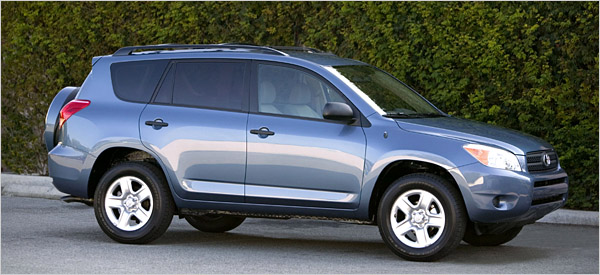 Toyota Rav4  Exterior Side View