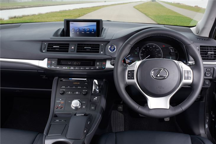 Lexus CT200h  Interior Dashboard