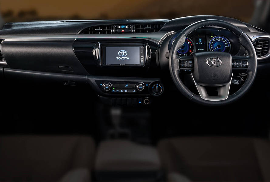 Toyota Hilux 2020 Interior Dashboard