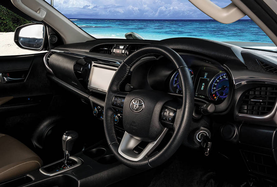 Toyota Hilux 2018 Interior Exquisite interior