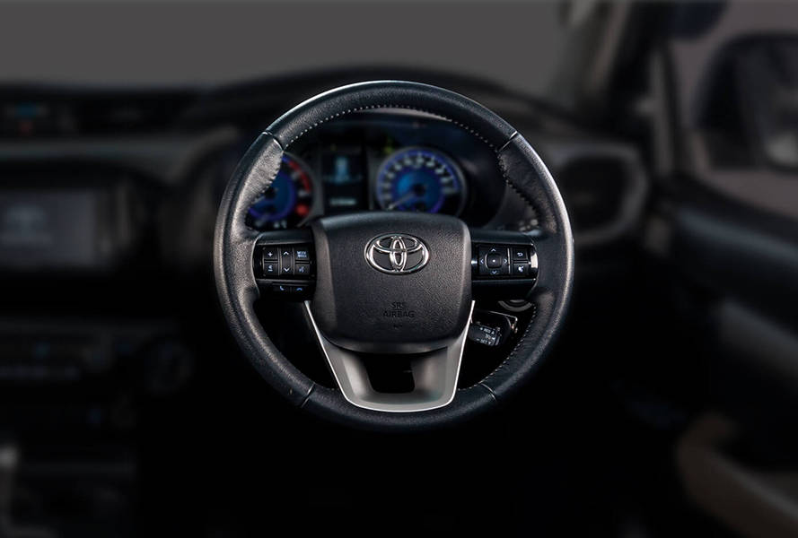Toyota Hilux 2019 Interior Power Steering