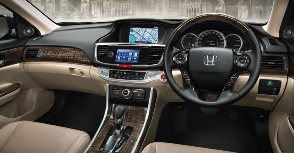 Honda Accord 2018 Interior Dashboard