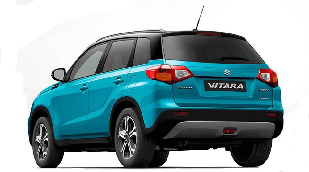 Suzuki Vitara 2020 Exterior Rear view