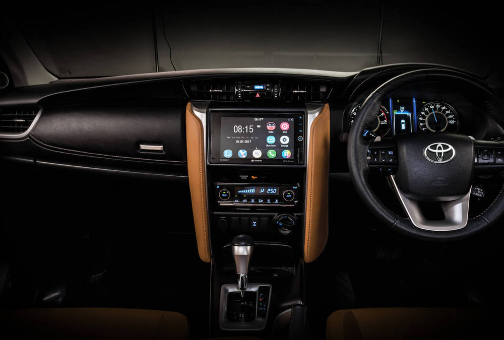 Toyota Fortuner 2020 Interior Dashboard