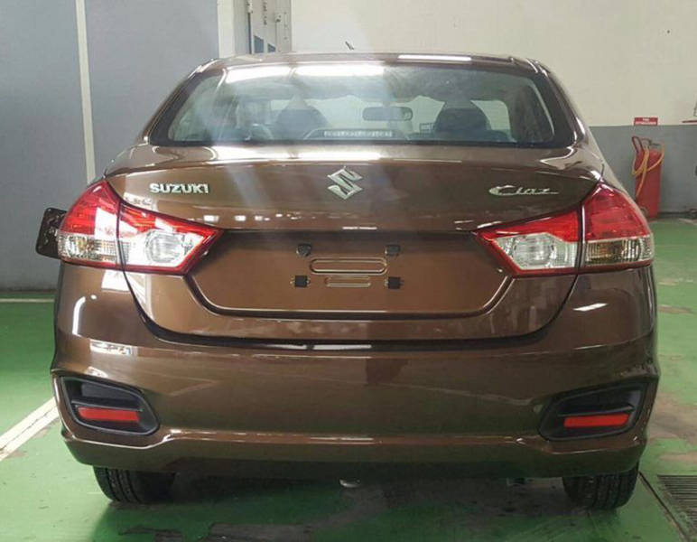 Suzuki Ciaz 2019 Exterior Rear View