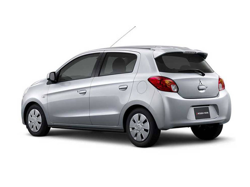Mitsubishi Mirage  Exterior Rear View