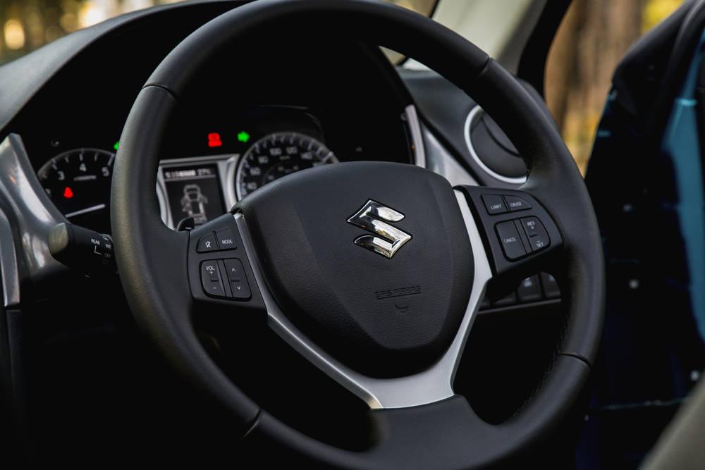 Suzuki Vitara 2018 Interior Steering