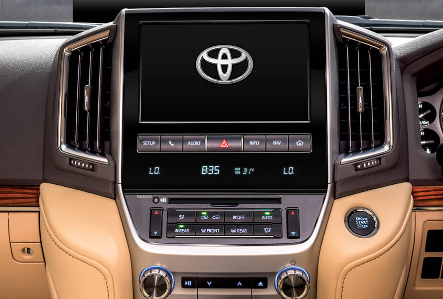Toyota Land Cruiser 2019 Interior In Dash Entertainment