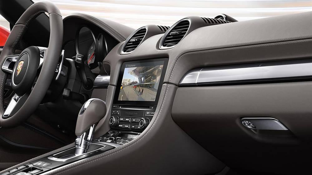 Porsche Boxster 2017 Interior
