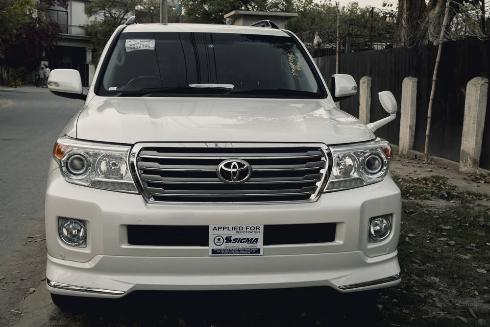 Toyota Land Cruiser 2018 Exterior Front View