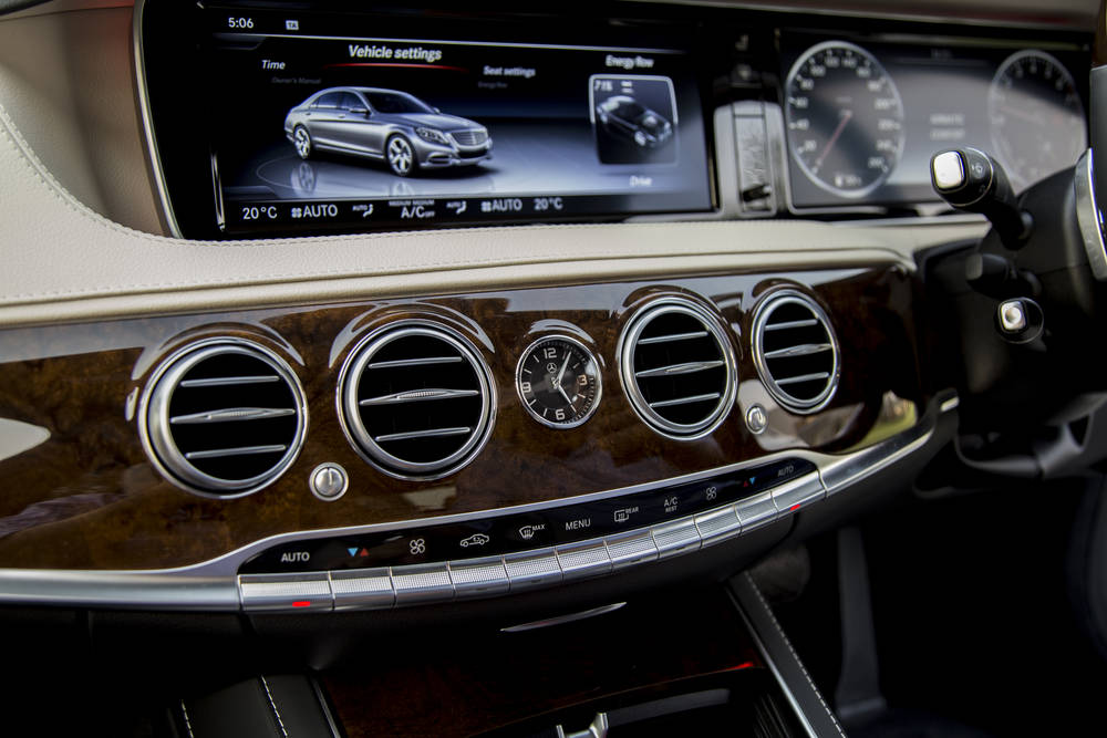 Mercedes Benz S Class 2018 Interior