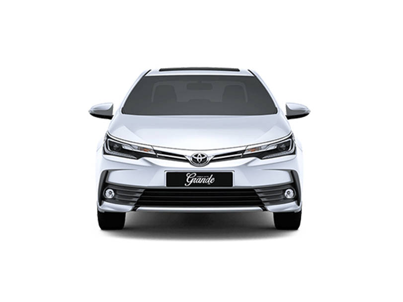 Toyota Corolla 2019 Exterior Front View (Facelift)