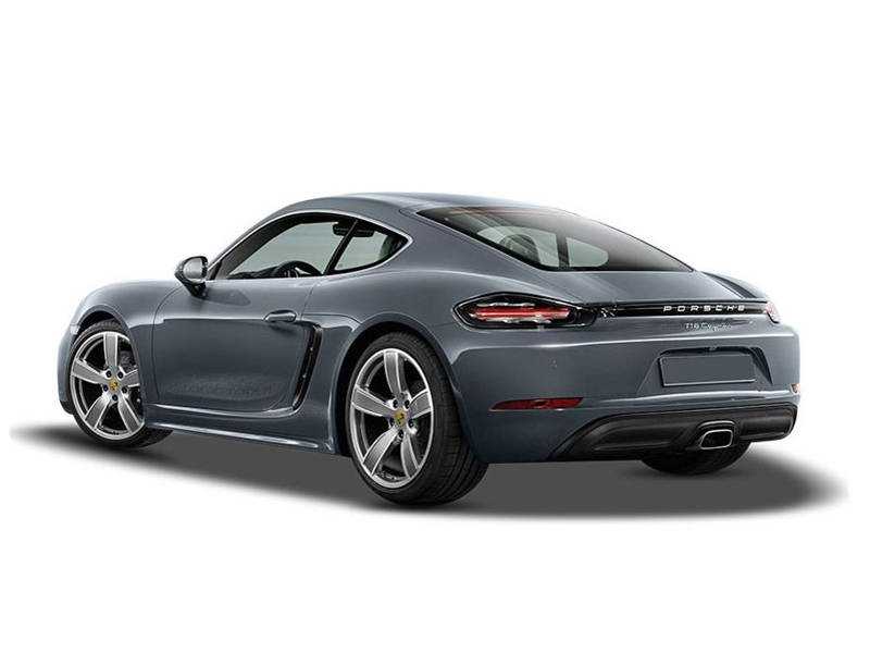 Porsche Cayman 2018 Exterior Rear view