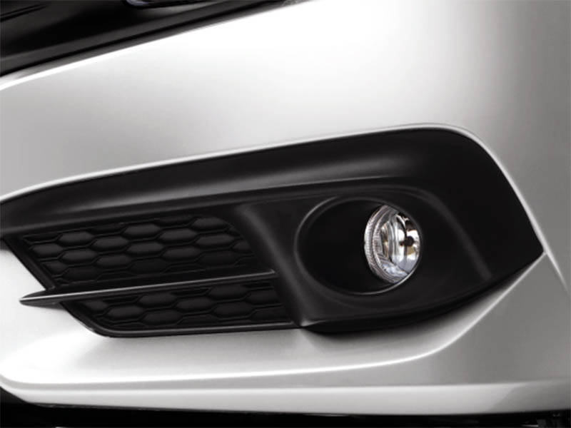 Honda Civic 2018 Exterior Fog Lights