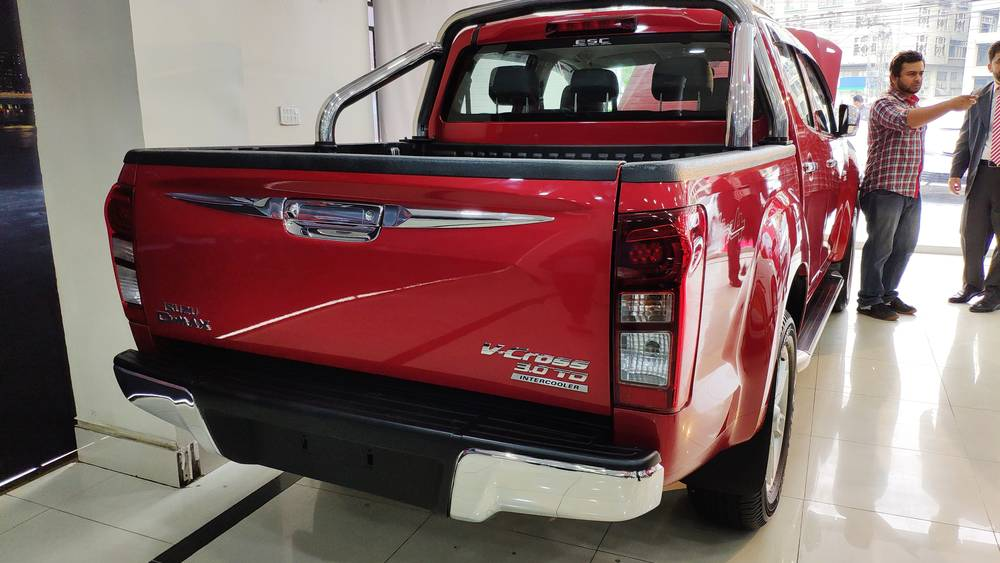 Isuzu D-Max 2020 Exterior V-Cross Rear View