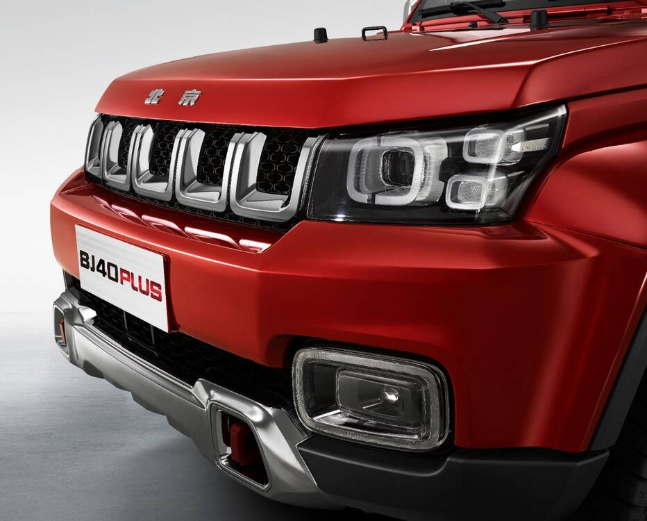BAIC BJ40 Plus  Exterior