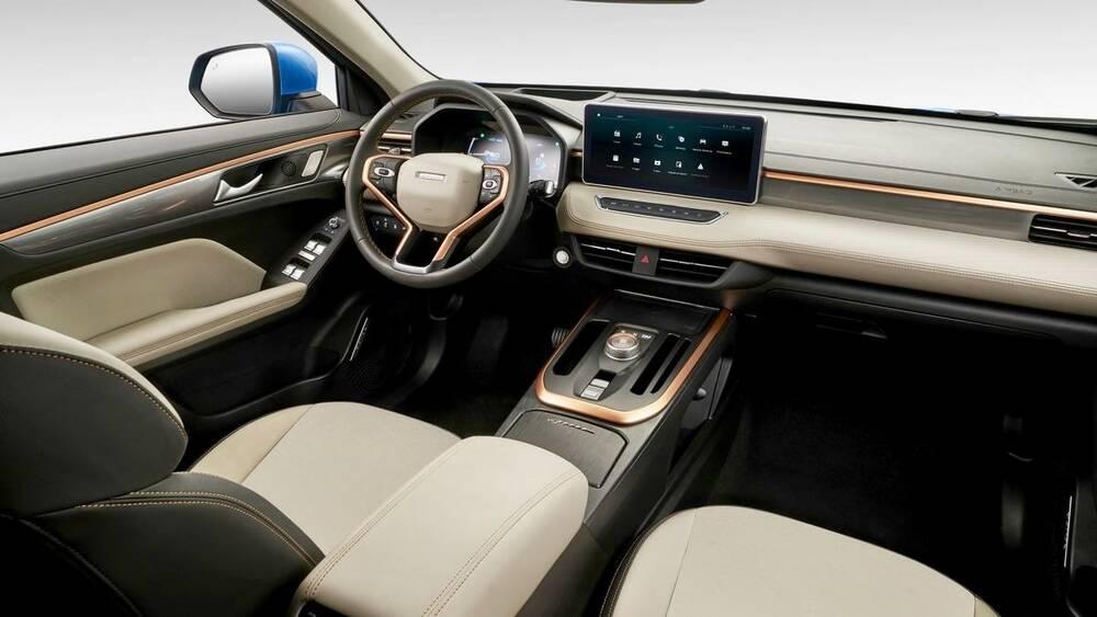 Haval Jolion 2021 Interior Dashboard