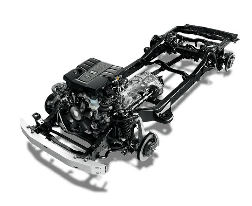 Toyota Land Cruiser Exterior Engine & Chassis