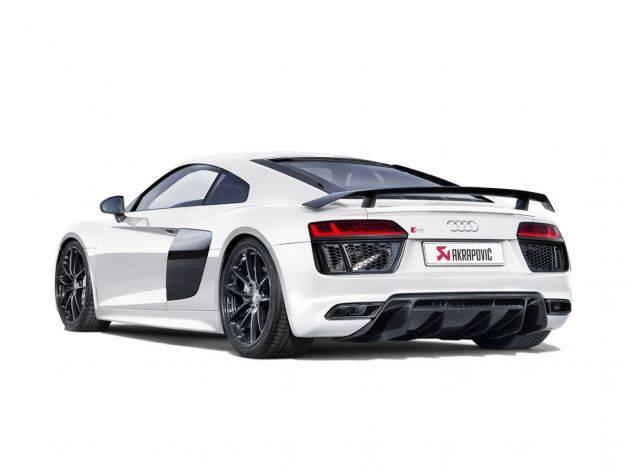 Audi R8 Exterior Back Profile