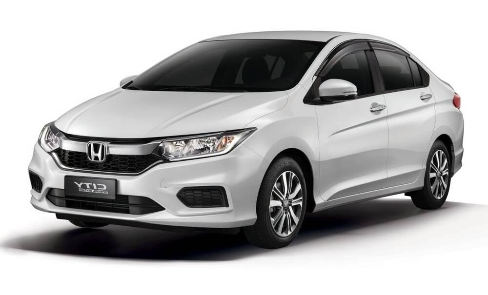 Honda City Exterior Side Profile