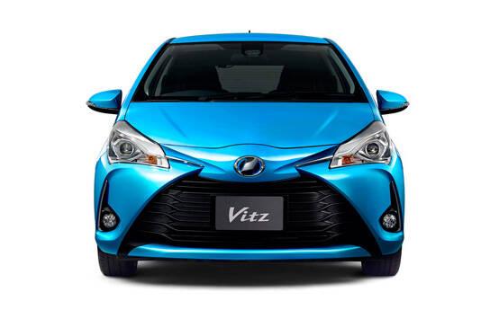 Toyota Vitz Exterior Front Profile