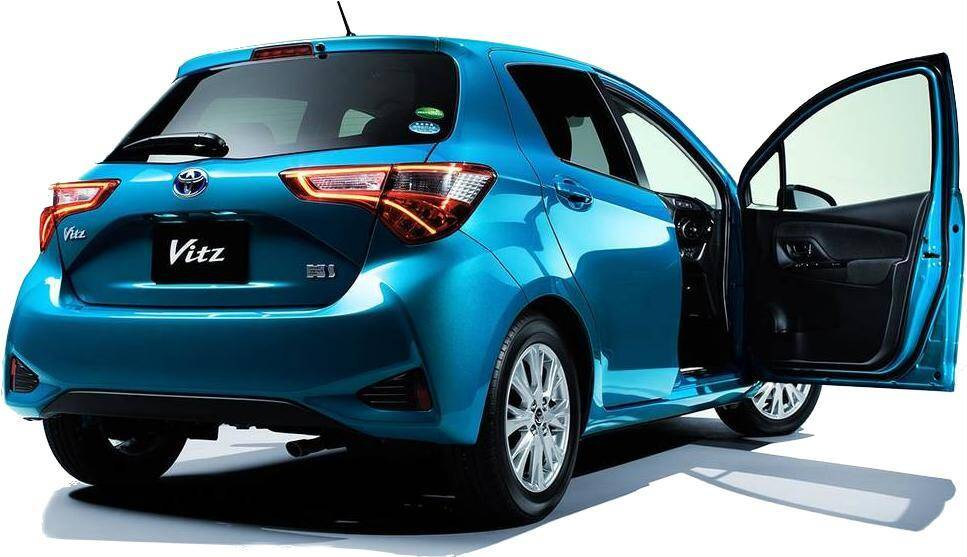 Toyota Vitz Exterior Side Profile